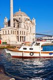 Ortakoy Mosque Royalty Free Stock Image