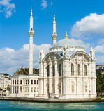 Ortakoy Mosque Royalty Free Stock Image