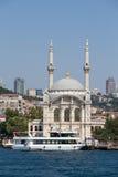 Ortakoy Mosque in Besiktas district , Istanbul, Turkey Stock Photo