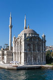 Ortakoy Mosque on Bosphorus, Istambul Royalty Free Stock Photos