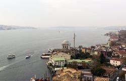 Ortakoy Mosque Bosphorus Royalty Free Stock Images