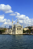 Ortakoy mosque on European side,Istanbul, Turkey. Stock Image