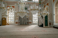 Ortakoy mosque interior in Istanbul, Turkey Stock Images