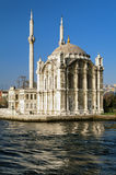 Ortakoy mosque in Istanbul Royalty Free Stock Photography