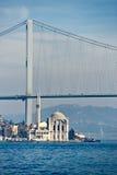 Ortakoy mosque, Istanbul, Turkey. Stock Photos