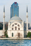 Ortakoy mosque, Istanbul, Turkey. Royalty Free Stock Photography