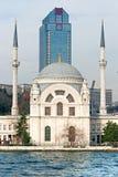 Ortakoy mosque, Istanbul, Turkey. Royalty Free Stock Photography