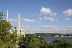 Ortakoy Mosque in Istanbul, Turkey Stock Photos