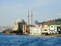 Ortakoy Mosquee Bosphorus van Istanboel Turkije Royalty-vrije Stock Fotografie