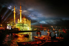 ortakoy square Royalty Free Stock Image