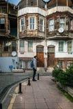 Ortakoy streets in Istanbul, Turkey Stock Photos