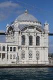 Ortakoymoskee in Istanboel Stock Afbeeldingen