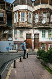 Ortakoystraten in Istanboel, Turkije Stock Foto's