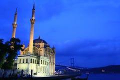 Ortaköy mosque Stock Photo