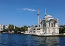 Ortaköy Mosque Reflection Royalty Free Stock Photos
