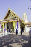Orte der Verehrung und Tempelkunst von Thailand Stockbild