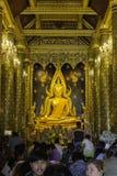 Orte der Verehrung und Tempelkunst von Thailand Stockfoto