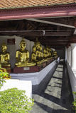 Orte der Verehrung und Tempelkunst von Thailand Stockfotografie