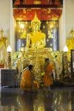 Orte der Verehrung und Tempelkunst von Thailand Stockfotos