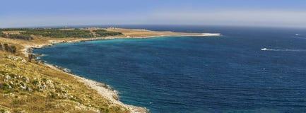 Orte otranto zatoki salento plaża Zdjęcia Stock
