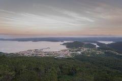 Ortegal estuary. Stock Image
