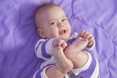 Orteils de bébé photos libres de droits