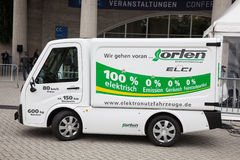 ORTEN Electric Transporter Stock Photography