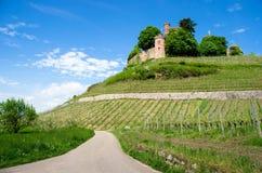 Ortenberg城堡在德国 免版税库存图片