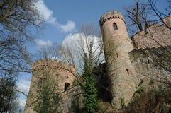 Ortenberg城堡 库存照片