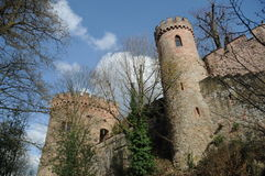 Ortenberg Castle. Is a beautiful castle located on a hill above the village Ortenberg in Germany. Today it is a youth hostel Stock Photos