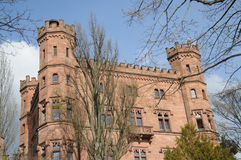 Ortenberg Castle. Is a beautiful castle located on a hill above the village Ortenberg in Germany. Today it is a youth hostel Royalty Free Stock Images