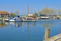 Orth, Fehmarn wyspa, morze bałtyckie, Niemcy Fotografia Stock