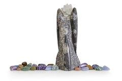 Orthoceras Angel Sculpture Imagen de archivo libre de regalías