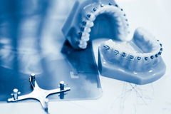 Orthodontic tools Stock Image