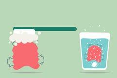 Orthodontics καθαρισμός στηριγμάτων απεικόνιση αποθεμάτων