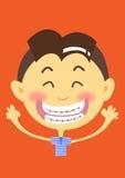 Orthodontisch Royalty-vrije Stock Afbeeldingen
