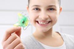 Orthodontist da criança foto de stock royalty free