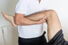 Orthodontists behandelt been Stock Foto