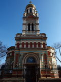 Orthodox Cathedral in Lodz 2. Beautiful Orthodox Church  Alexander Nevsky Stock Image