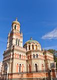 Orthodox Alexander Nevsky Cathedral (1884) in Lodz, Poland Stock Images