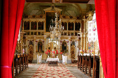 Orthodox altar Royalty Free Stock Photography