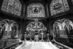 Orthodox altar Royalty Free Stock Image