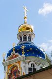 Orthodox Annunciation church in Pechory Royalty Free Stock Image