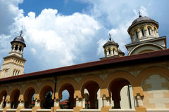 Orthodox Archiepiscopal Cathedral, Alba Iulia Stock Photo