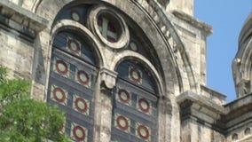 Orthodox architecture of old Varna, Bulgaria stock footage