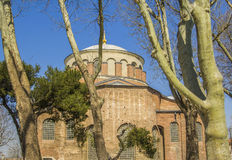 Orthodox Byzantine church in  Gulhane Park Stock Photos