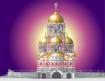 Orthodox castle Stock Photo