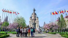 Orthodox Catehdral in Avram Iancu Square in Cluj Napoca stock video footage