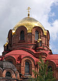 An orthodox cathedral. In Tatarstan, Russia Stock Photography