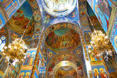 Orthodox cathedral Royalty Free Stock Photography